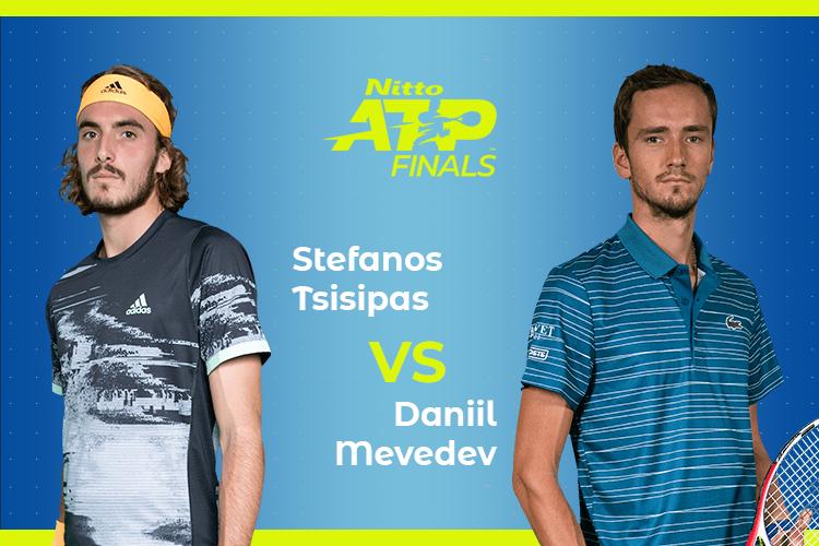ATP Finals Medvedev Tsitsipas