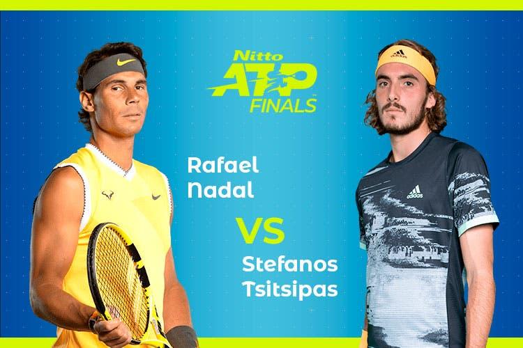 ATP Finals: Siga Rafael Nadal vs Stefanos Tsitsipas no nosso live center