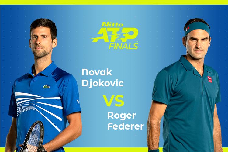 ATP Finals: Siga Novak Djokovic vs Roger Federer no nosso live center