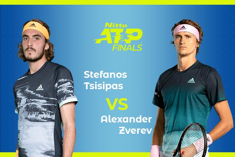 ATP Finals: Siga Stefanos Tsitsipas vs Alexander Zverev no nosso live center
