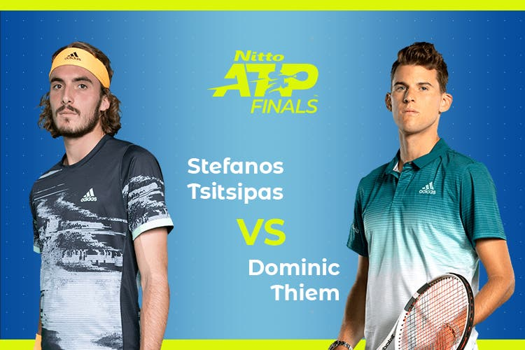ATP Finals: Siga Stefanos Tsitsipas vs Dominic Thiem no nosso live center