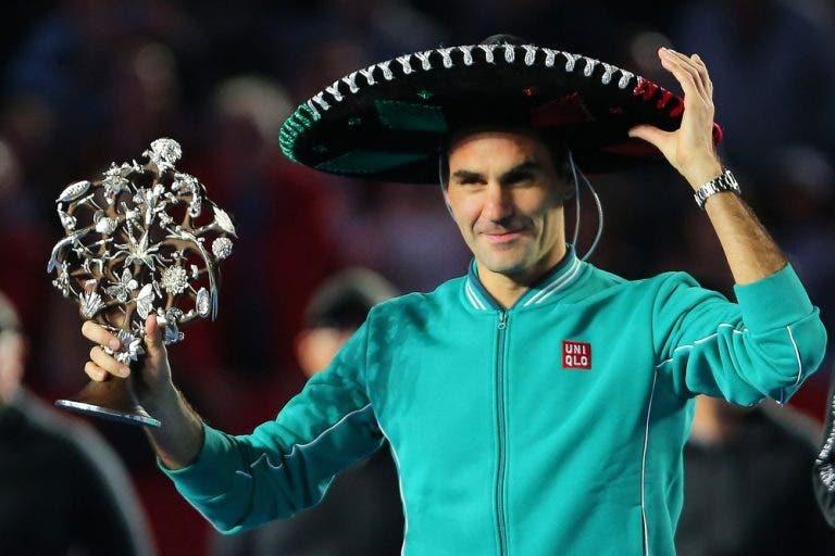Federer: «Há um ano tive umas das melhores experiências da carreira»