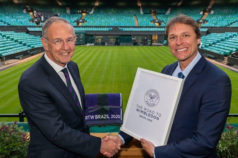 Brasil anuncia parceria com Road to Wimbledon em 2020