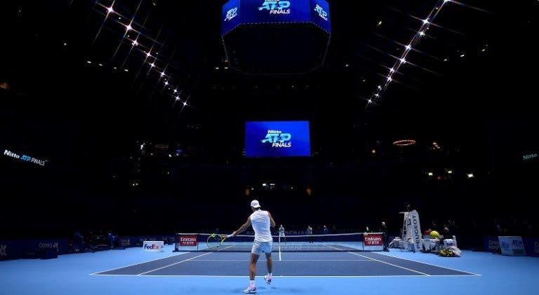 [FOTOS] Craques afinam os últimos detalhes antes das ATP Finals