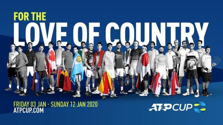 ATP Cup: está fechado o elenco e conhecidos os grupos completos