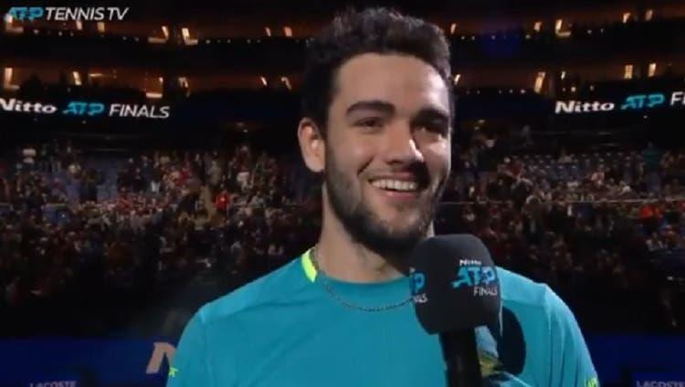 Berrettini: «Federer é o ténis, posso passar dois dias a falar dele»