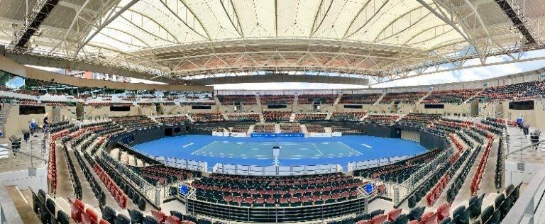 Mulheres 'expulsas' do central de Brisbane pela ATP Cup até meio da prova