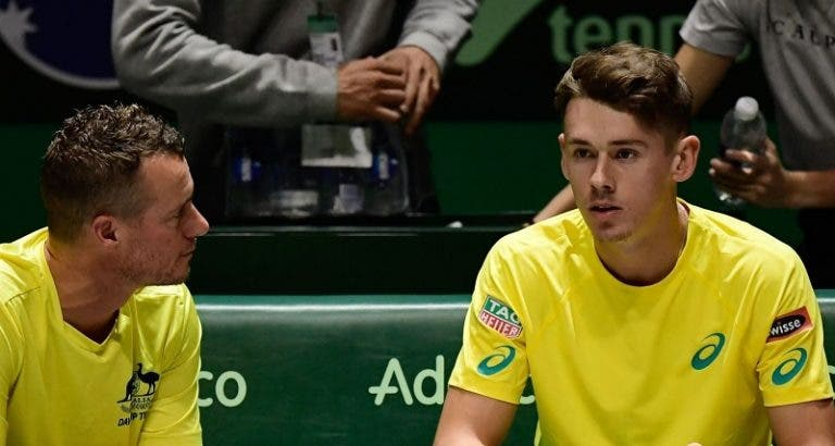 De Minaur triunfa e Austrália entra a ganhar nas Davis Cup Finals