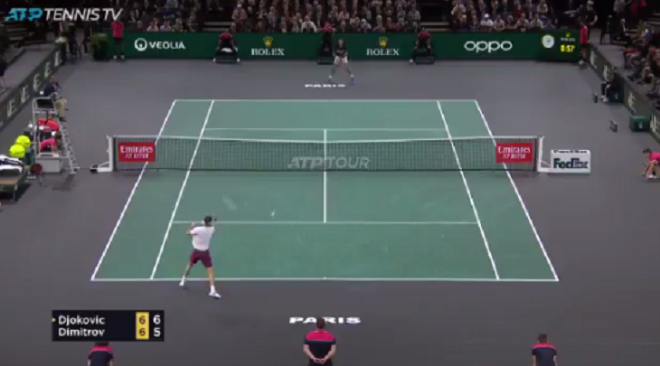 [VÍDEO] Djokovic ganha set point com… 35 pancadas