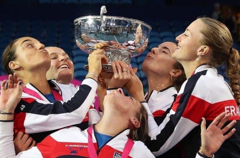 França conquista a Fed Cup 16 anos depois com Mladenovic a ser a MVP