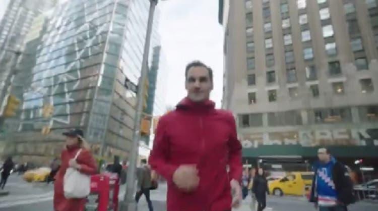 [VÍDEO] Federer correu pelas ruas de Nova Iorque por um bom motivo