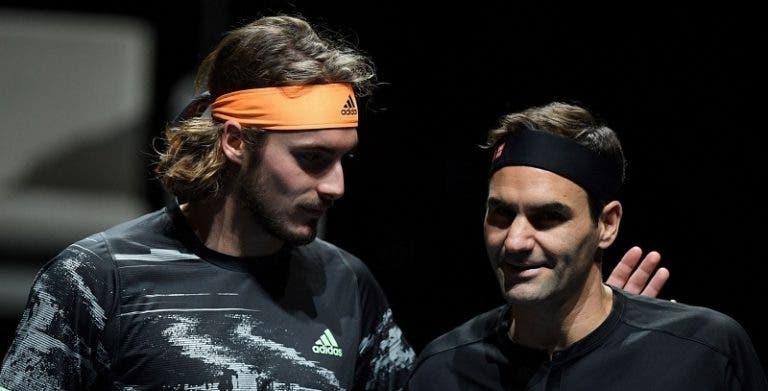 Tsitsipas sabe o que quer: «Gostava de ter uma carreira como a do Federer»