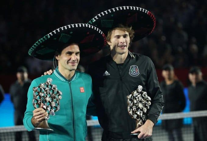 Fã declara-se a Federer e Zverev fica enciumado: «Então e eu?»