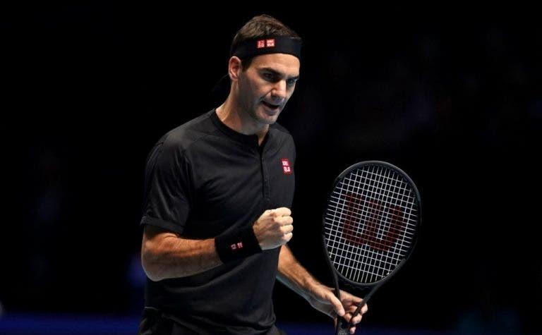 Federer derrota Berrettini e mantém-se bem vivo nas ATP Finals