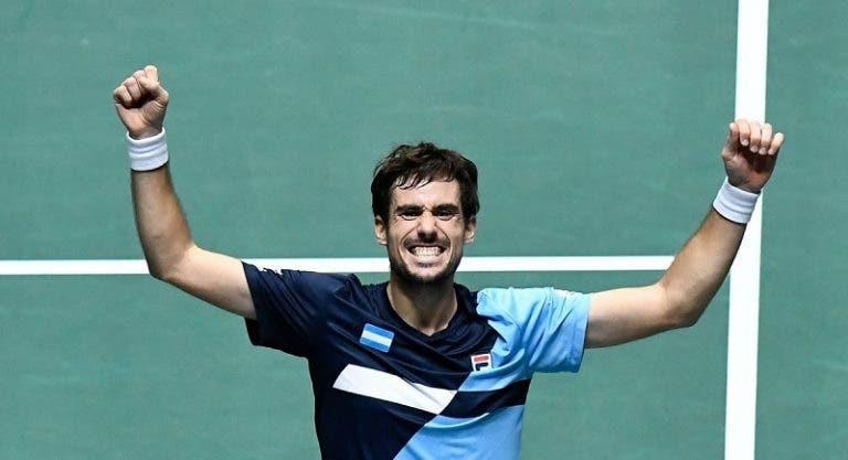 Pella supera Carreno Busta e obriga Nadal a vencer para manter a Espanha viva na Taça Davis