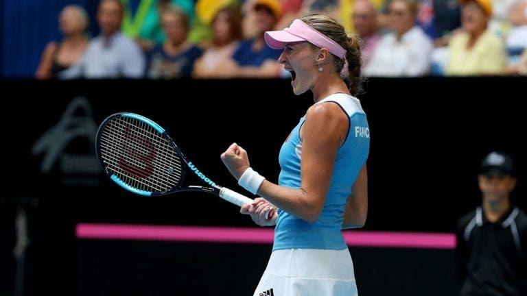 AO RUBRO. Final da Fed Cup vai ser decidida no encontro de pares em Perth