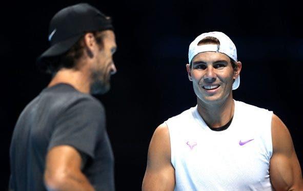 Pronto para a luta: Moya garante que Nadal já está a 100% para as ATP Finals