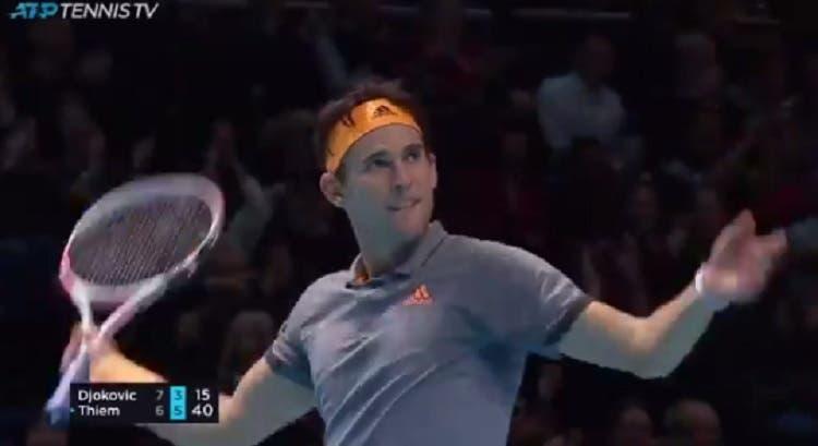 [VÍDEO] Os pontos incríveis do Thiem vs. Djokovic