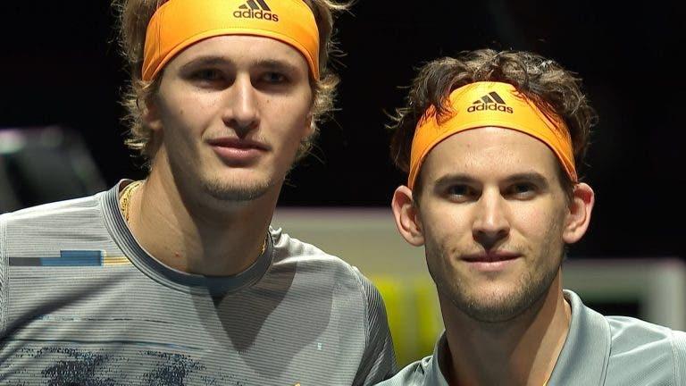 Zverev e Thiem concordam: vamos ter novo campeão de Grand Slam em 2020