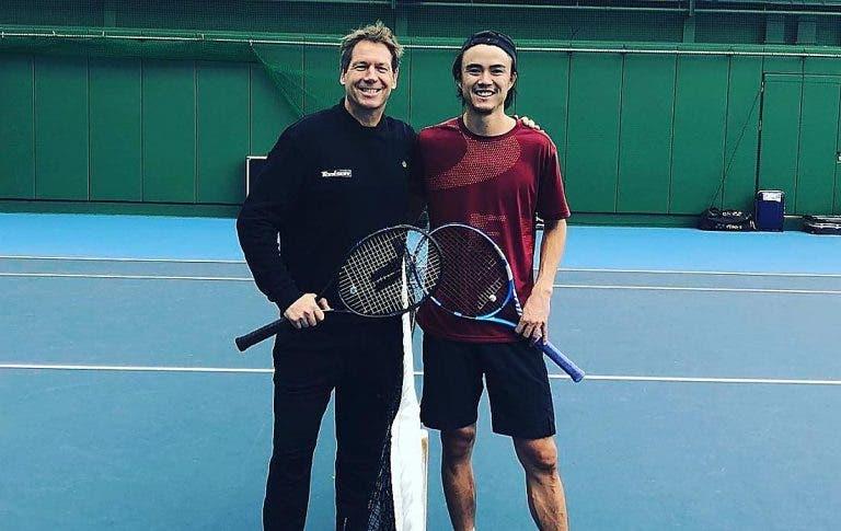 Groneveld volta ao circuito ATP para treinar japonês