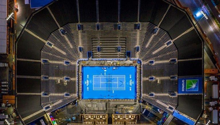 Diriyah Tennis Cup: conhecido o quadro e a ordem de jogos
