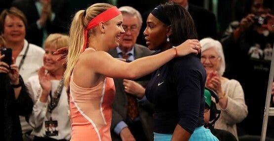 Wozniacki: «Terminar a carreira a jogar com Serena, será mágico»