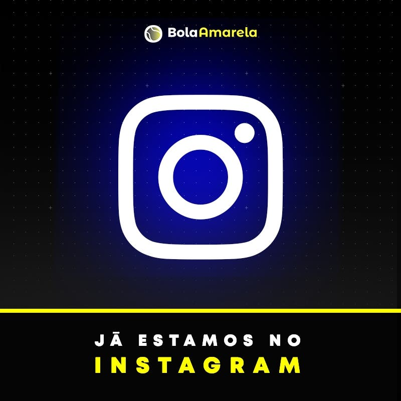 Já estamos no instagram