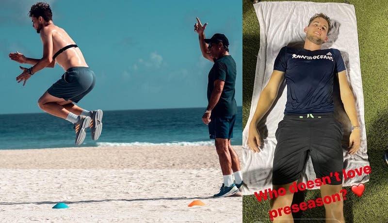 Dominic Thiem treina (muito) duro em Miami rumo a 2020