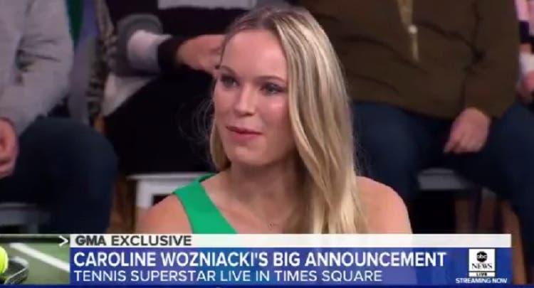 Wozniacki: «Estou pronta para o próximo capítulo da minha vida»