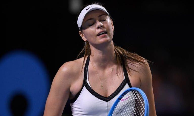 Sharapova recorda suspensão por doping: «Foi erro do meu agente»