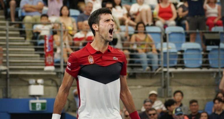 Djokovic e o triunfo frente a Nadal: «Tudo funcionou para mim»