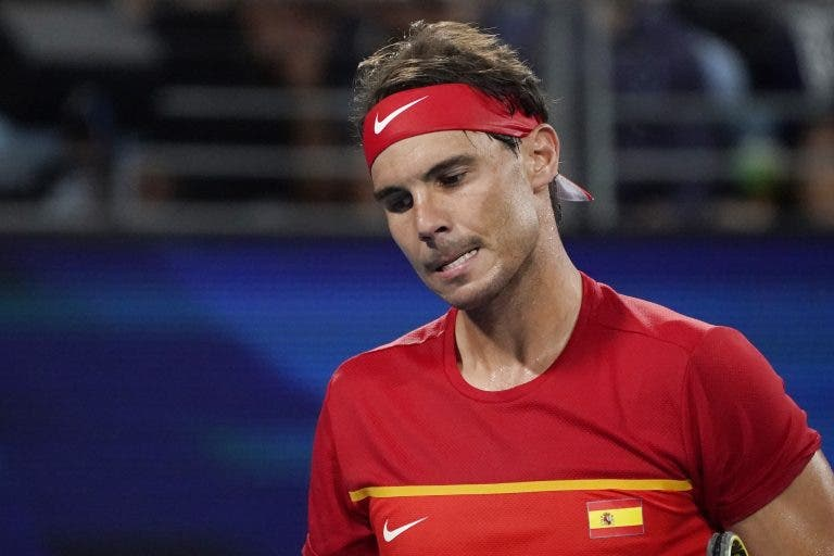 Mudanças na Espanha: Rafa Nadal já não vai jogar o par decisivo da ATP Cup