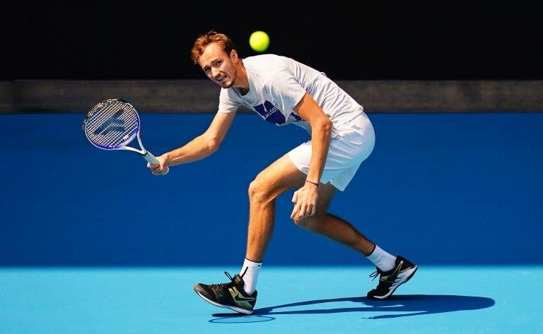 Medvedev revela os objetivos para o Australian Open e fala do desejo em defrontar o Big Three