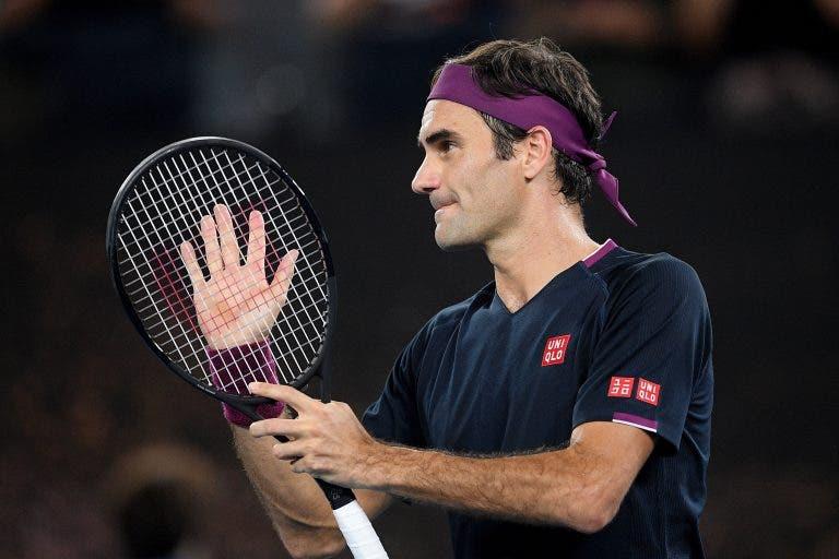 Federer: «Se pudesse ia até à lua só para jogar as ATP Finals»