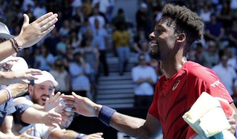 Monfils confiante: «Acredito firmemente de que sou capaz de ganhar um Grand Slam»
