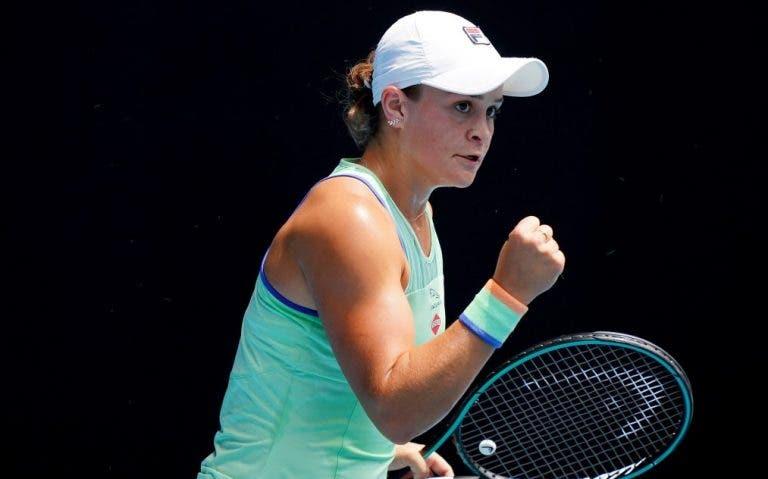 Barty ultrapassa Kvitova e garante primeira meia-final da carreira no Australian Open