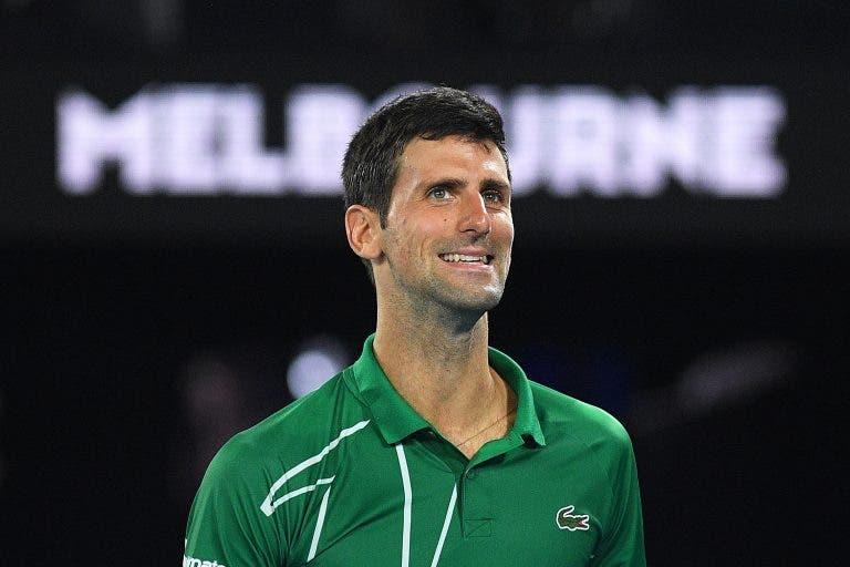 Djokovic: «Federer não jogar é mau para o torneio mas não muda nada para mim»