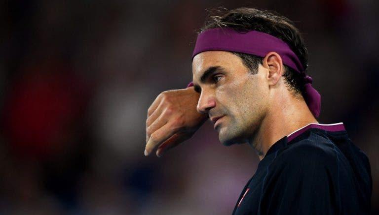 Treinador de Federer preocupa: «Recuperação do Roger não está a correr tão bem como esperávamos»