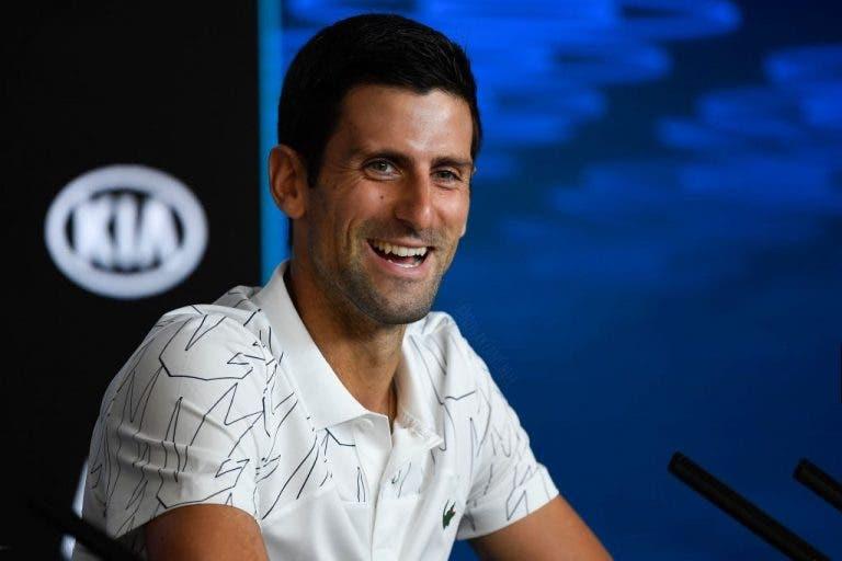 Djokovic revela quando percebeu que podia ser o GOAT e admite: «Ainda jogo por causa disso»