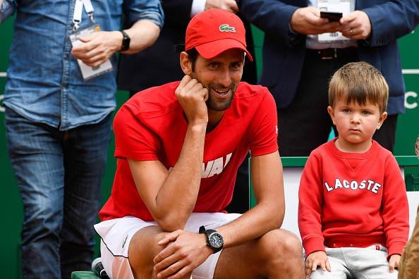 Djokovic fala da paixão do filho pelo ténis: «Sabe quem é o Roger e o Rafa e a sua pancada preferida é a direita»