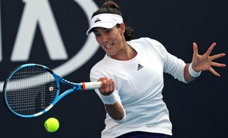 Muguruza: «Estou a jogar o Open da Austrália. É um momento especial, vou continuar a lutar»