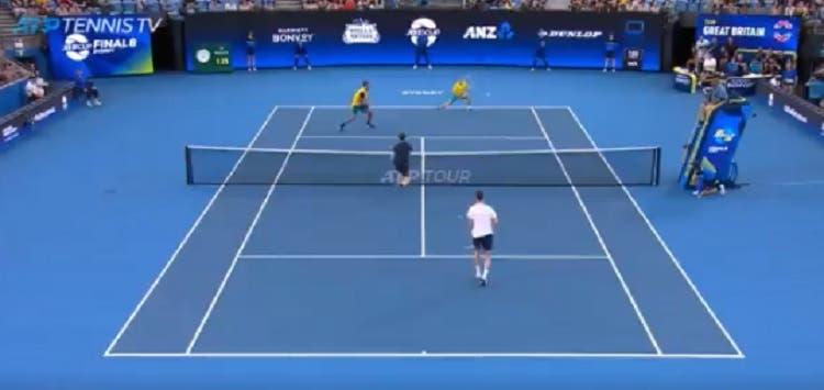 [VÍDEO] O erro incrível de Jamie Murray com match point a favor