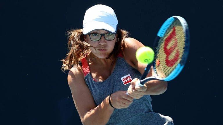 Espanhola Ane Mintegi desiste da variante júnior do Australian Open devido ao calor