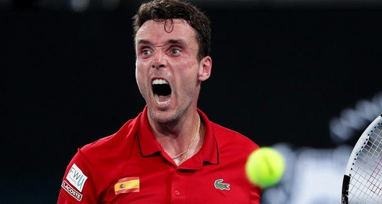 Bautista bate Lajovic e dá vantagem à Espanha na final da ATP Cup