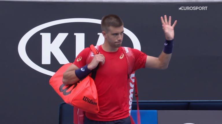 Berrettini OK, Coric (completamente) KO na 1.ª ronda do Australian Open