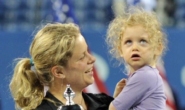 Kim Clijsters conta como é que um comentário da filha a motivou a voltar ao ténis