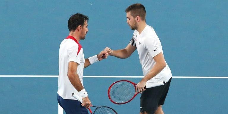 Croácia atropela nos pares e elimina Polónia na ATP Cup