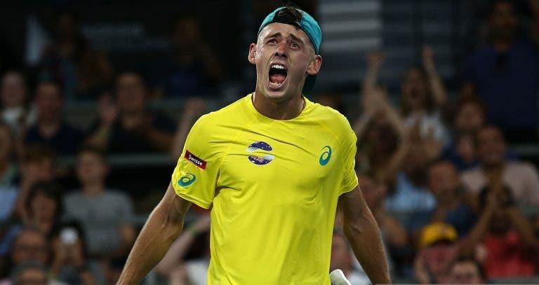 De Minaur 'vira' sobre Zverev e Austrália vence duelo com a Alemanha na ATP Cup