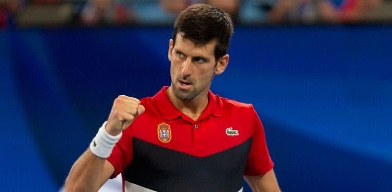 Djokovic joga muito, bate Nadal e iguala final da ATP Cup