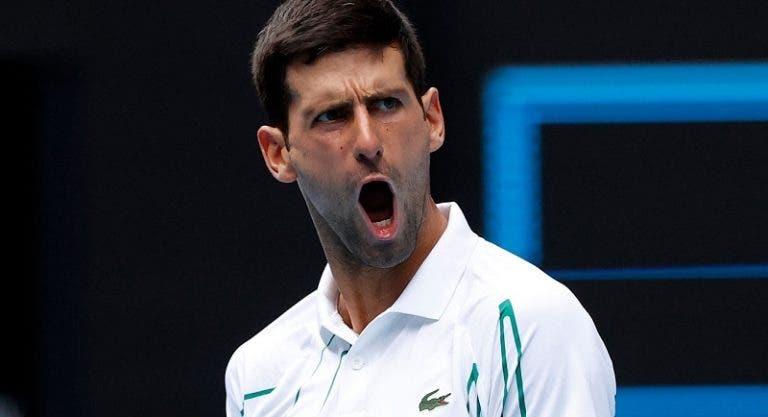 Djokovic: «O que me faz continuar a competir é vencer mais Grand Slams»
